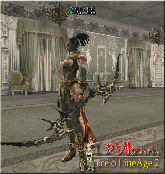 Dark Elven Long Bow - лоу B-grade лук - l2vika.ru