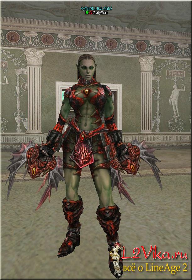 Demon Splinter - S-grade кастеты - l2vika.ru