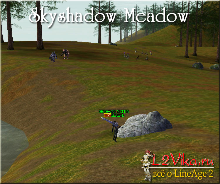 Skyshadow Meadow - Луг Небесной Тени - L2Vika.ru