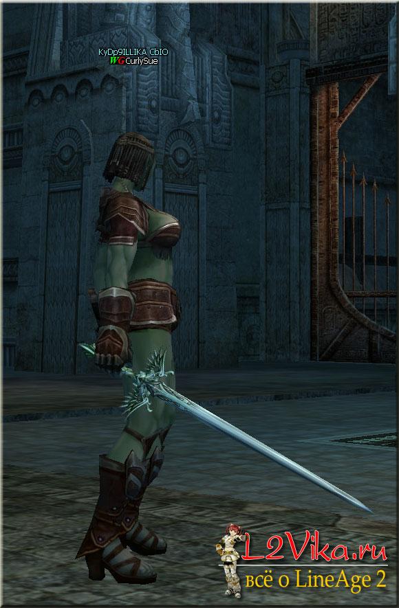 Elven Long Sword - топ D-grade одноручный меч - Характеристики - Крафт Elven Long Sword - L2Vika.ru