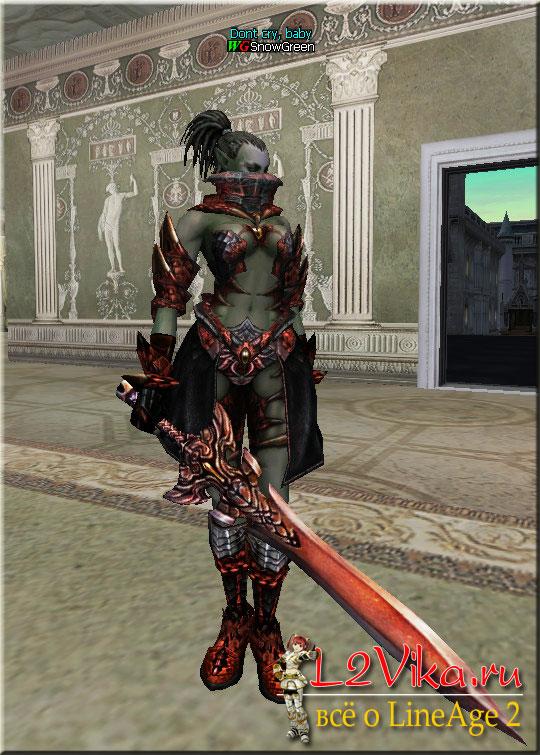 Homunkulus Sword - Ц-grade магический меч - Характеристики - Крафт Homunkulus Sword - L2Vika.ru