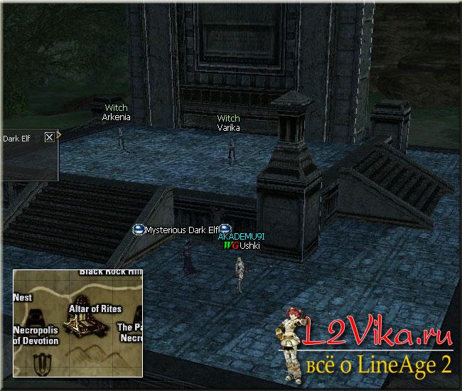 Mysterious Dark Elf - Test of Healer - L2Vika.ru