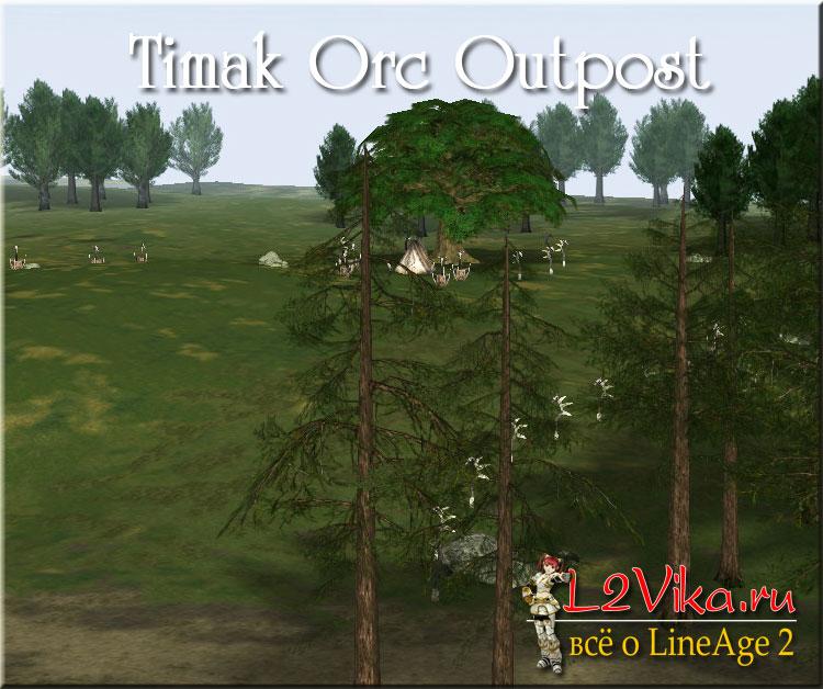 Timak Orc Outpost - Застава орков Тимак - L2Vika.ru