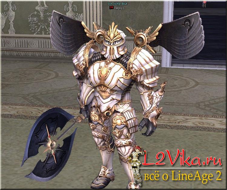 Transformation Divine Knight - Трансформации в обновлении Freya - Типы трансформаций - Transform Sealbook - L2Vika.ru