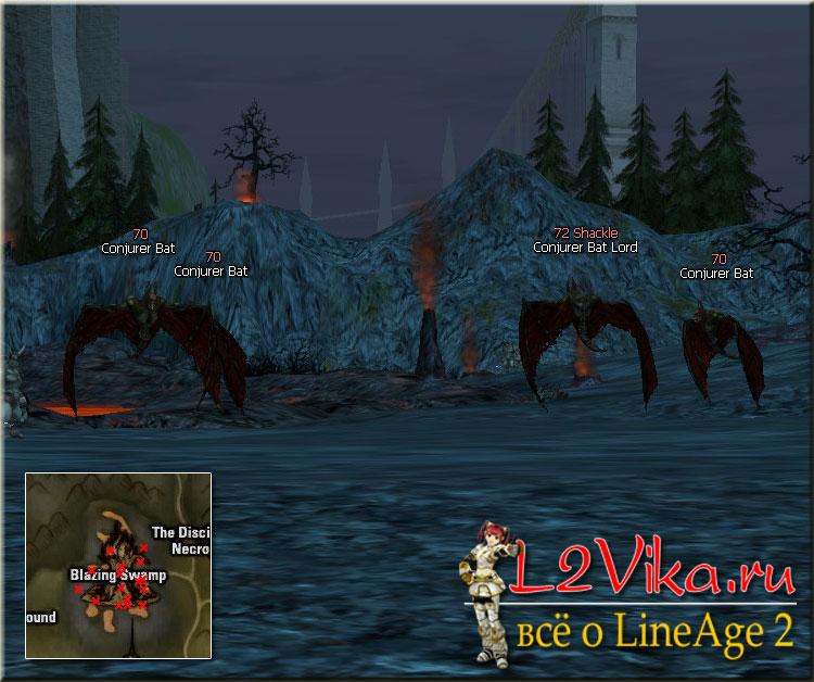 Conjurer Bat - Lvl 70 - L2Vika.ru