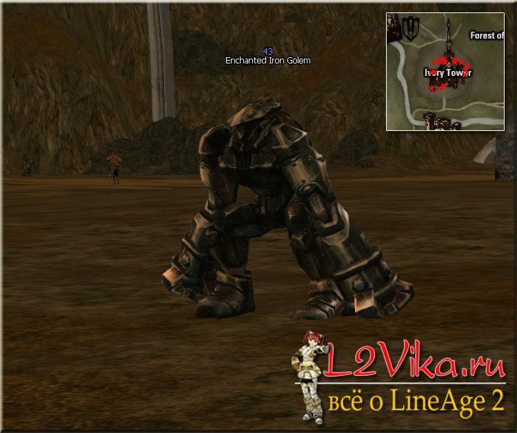 Enchanted Iron Golem - Lvl 43 - L2Vika.ru