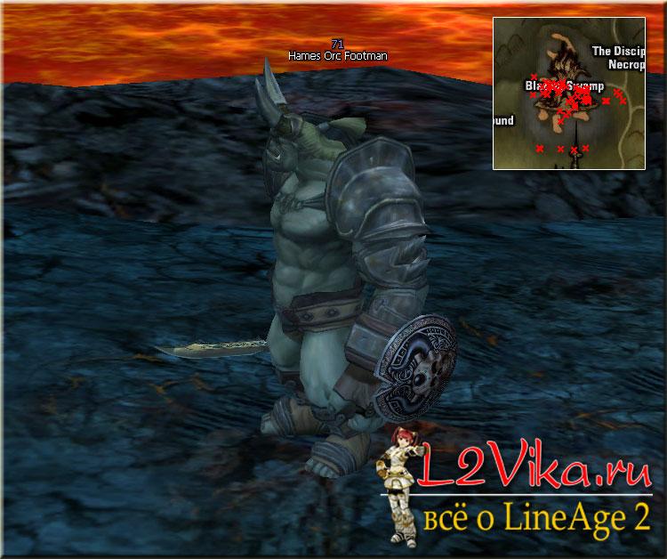 Hames Orc Footman - Lvl 71 - L2Vika.ru