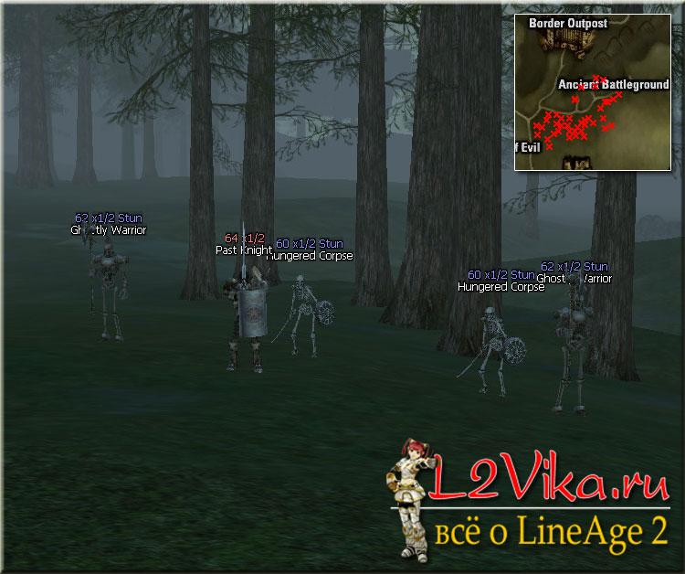 Past Knight Lvl 64 - L2Vika.ru