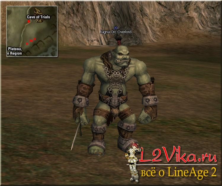 Ragna Orc Overlord Lvl 39 - L2Vika.ru