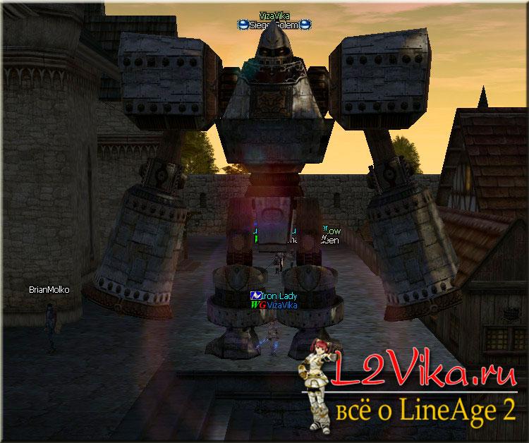 Големы крафтера - Уникальные умения крафтеров по вызову големов - L2Vika.ru