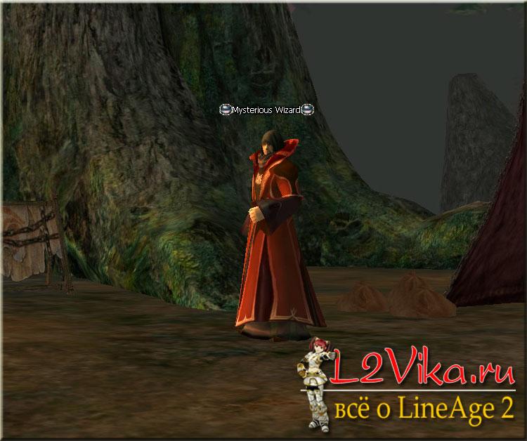 Mysterious Wizard - квест Hidden Truth - L2Vika.ru