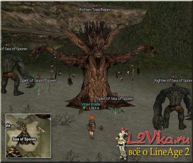 Рейдбосс Rotten Tree Repiro