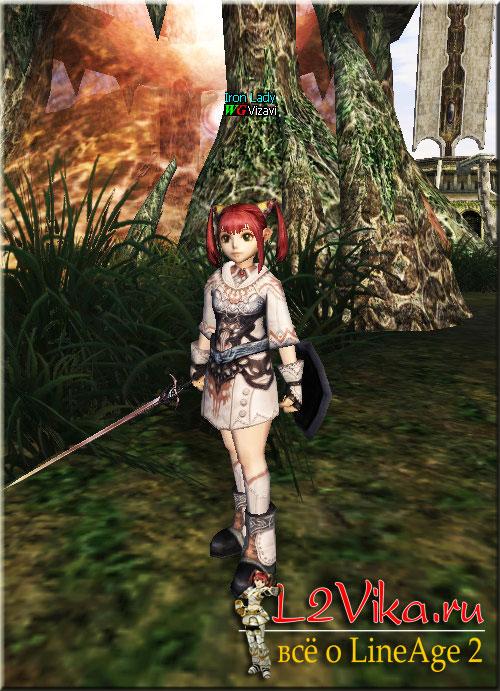 Sword of Valhalla - лоу B-grade одноручный магический меч