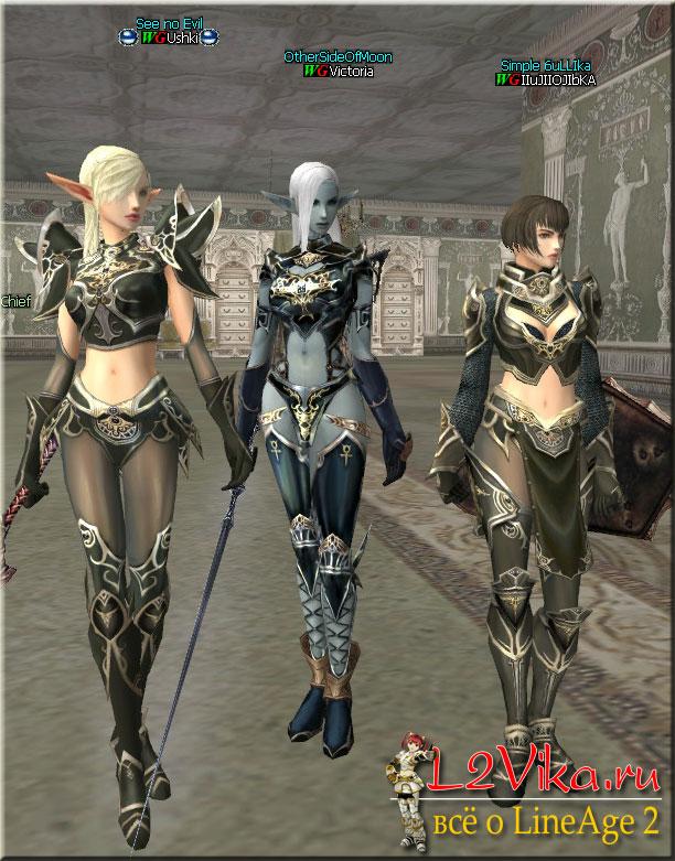 Dark Crystal Heavy Armor Set - Дроп и спойл рецептов и кейматов на ДК тяжёлый сет - крафт Dark Crystal Heavy Armor ДК тяж сета - L2Vika.ru