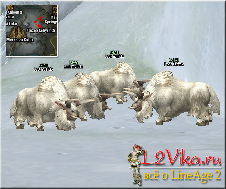 Lost Buffalo Lvl 60 - L2Vika.ru