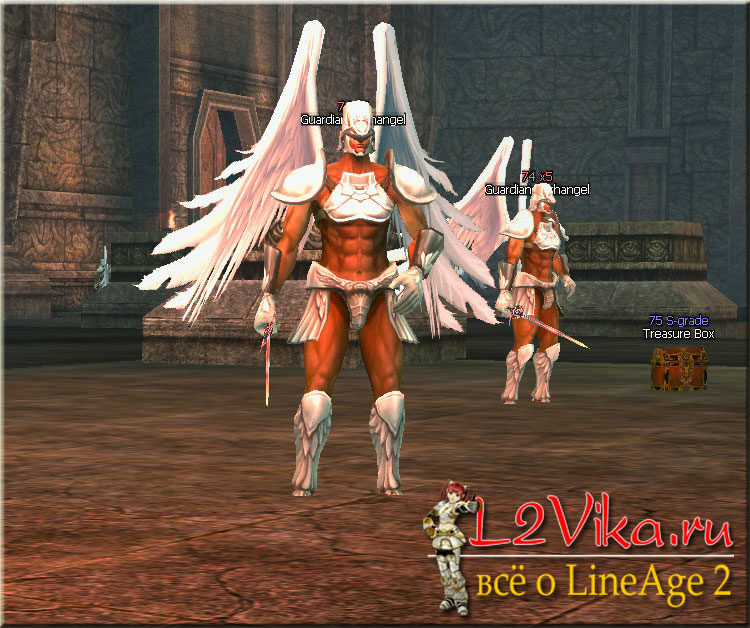 Guardian Archangel - Lvl 74 - L2Vika.ru
