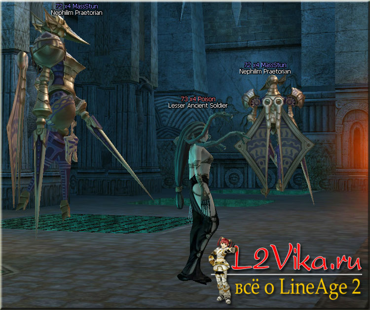 Lesser Ancient Soldier - Lvl 73 - L2Vika.ru