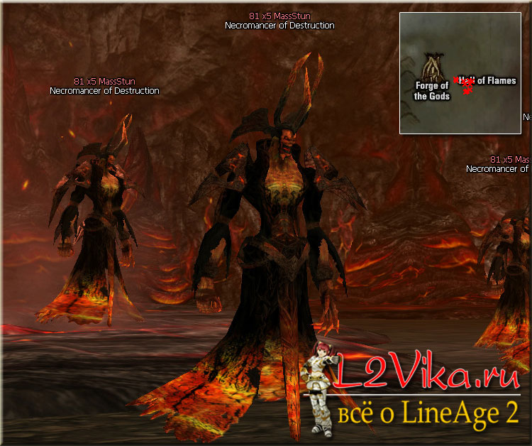 Necromancer of Destruction A ID 21384 - Lvl 80 - L2Vika.ru