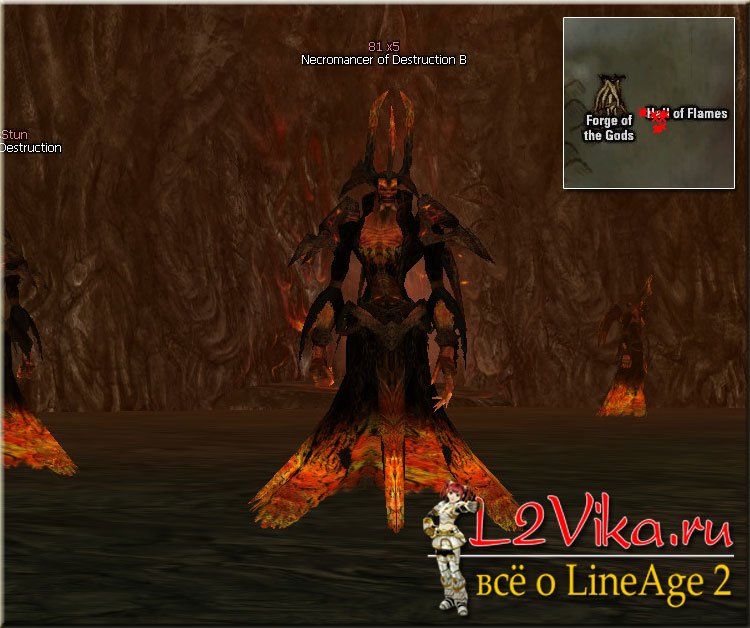 Necromancer of Destruction B ID 21654 - Lvl 80 - L2Vika.ru
