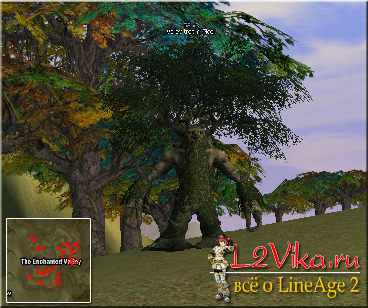 Valley Treant Elder - Lvl 53 - L2Vika.ru