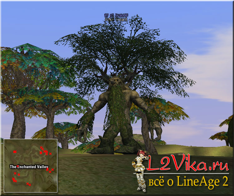 Valley Treant - Lvl 47 - L2Vika.ru